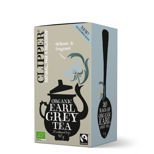 Luomu Earl Grey Tee