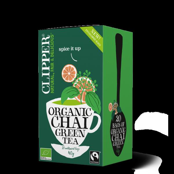 luomu chai vihreä tee