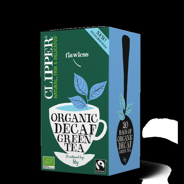 luomu kofeiiniton vihreä tee