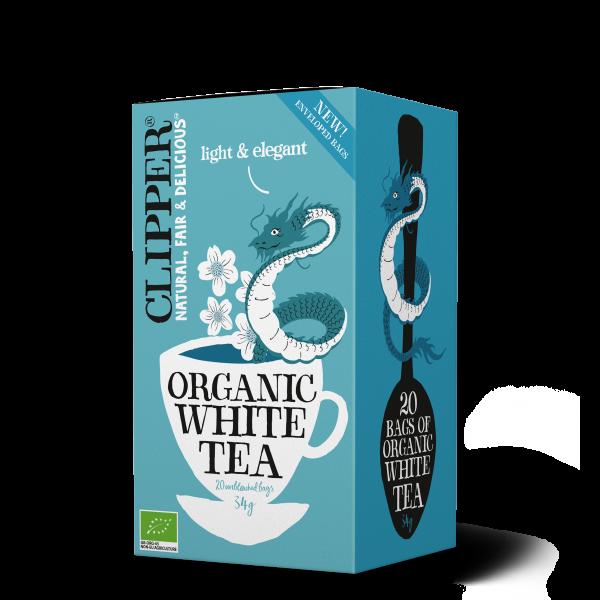 luomu valkoinen tee