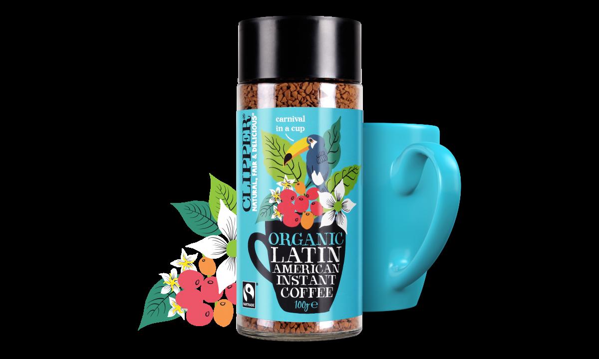 organic latin american coffee 100g
